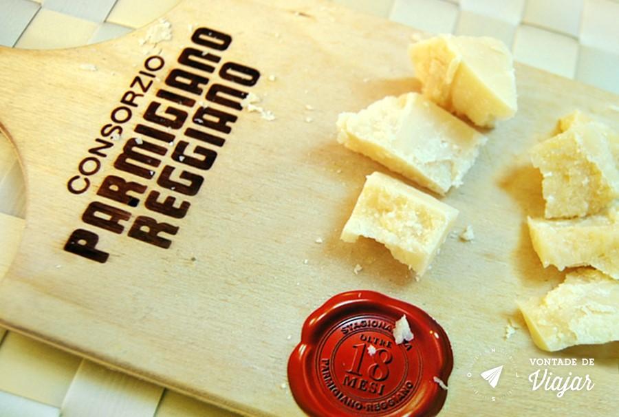 Modena - Queijo parmigiano reggiano