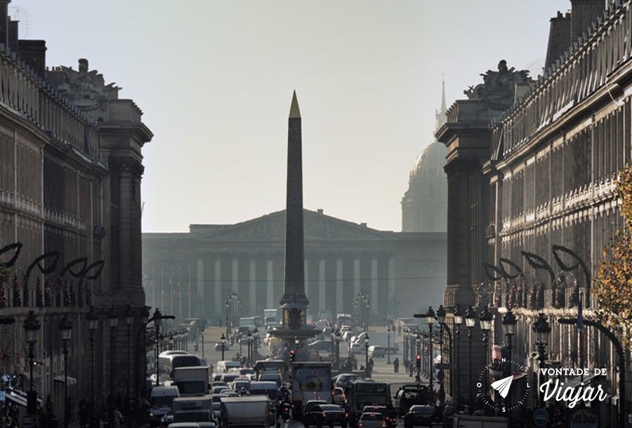Pracas Reais de Paris - Place de la Concorde