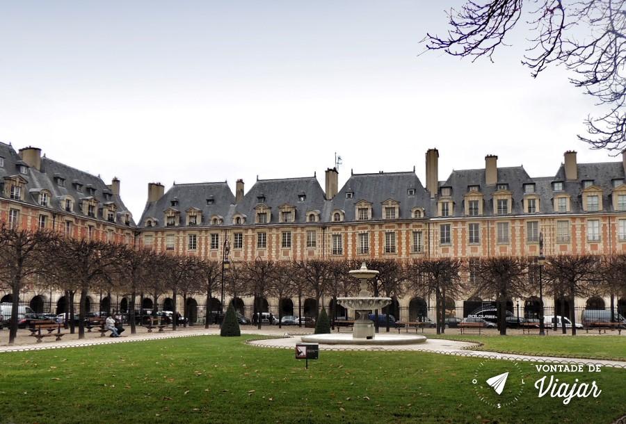 Pracas Reais de Paris - Place des Vosges