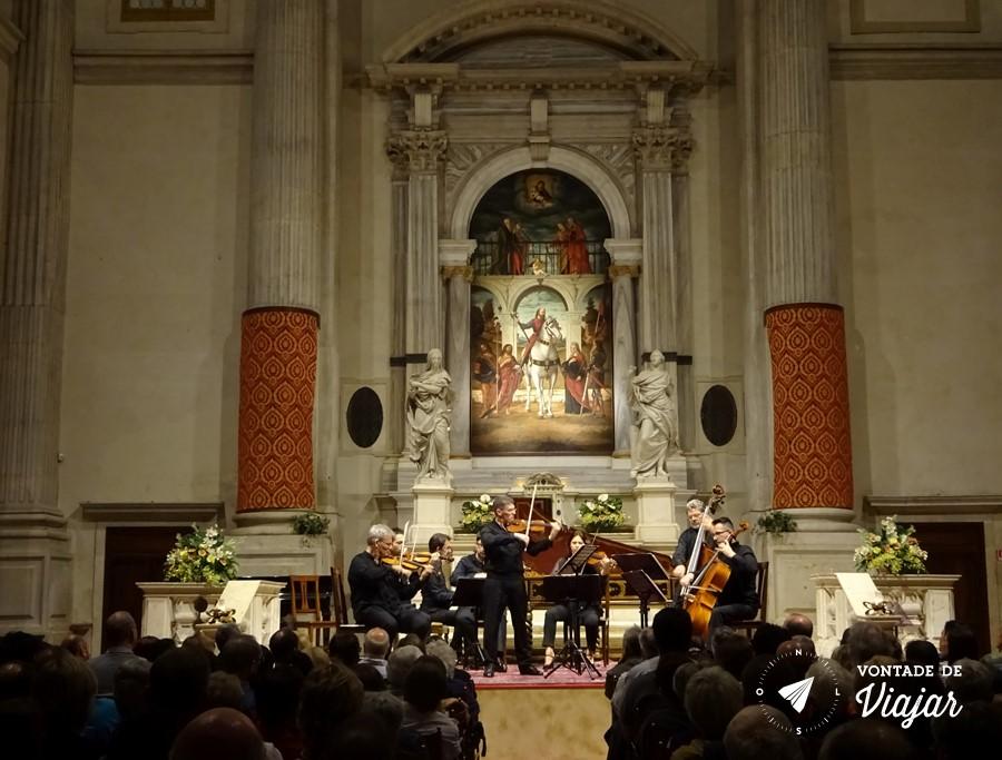 Veneza - Concerto de musica classica em Veneza