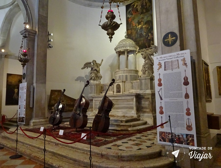 Veneza - Museu da Musica em Veneza Igreja de Sao Mauricio