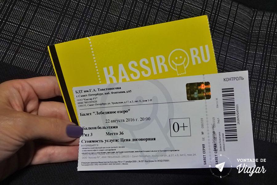 Ballet na Russia - Como comprar ingresso para ballet