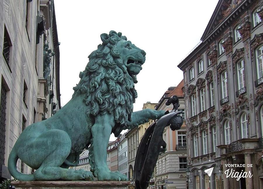 Leao de Munique - Leao da Bavaria