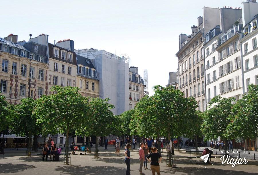 Pracas Reais de Paris - Place Dauphine