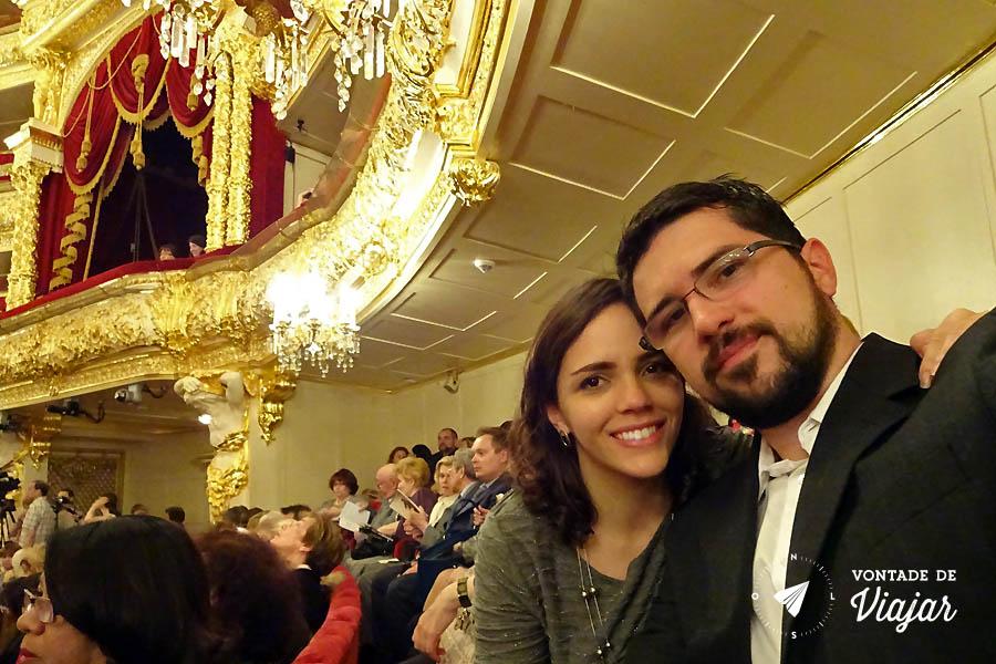 Russia Ballet Bolshoi - Teatro Bolshoi Moscou Nanda e Guilherme