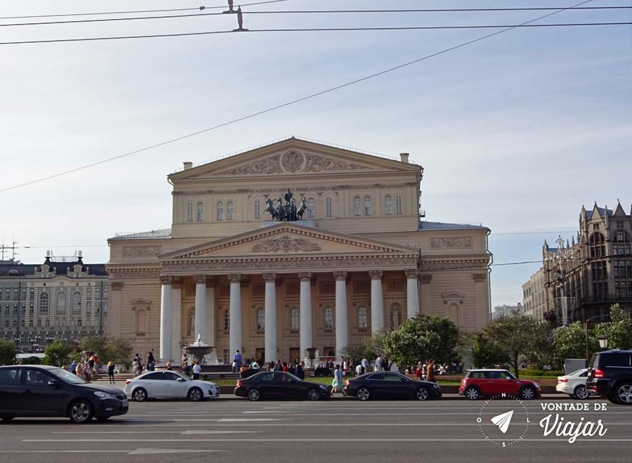 Russia Ballet Bolshoi - Teatro Bolshoi Moscou