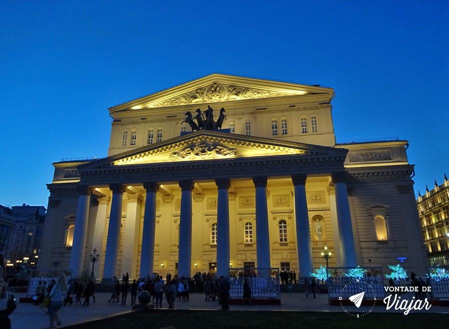 Russia Ballet Bolshoi - Teatro Bolshoi em Moscou