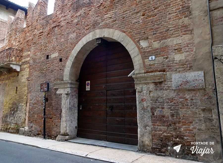 Romeu e Julieta historia - Casa de Romeu
