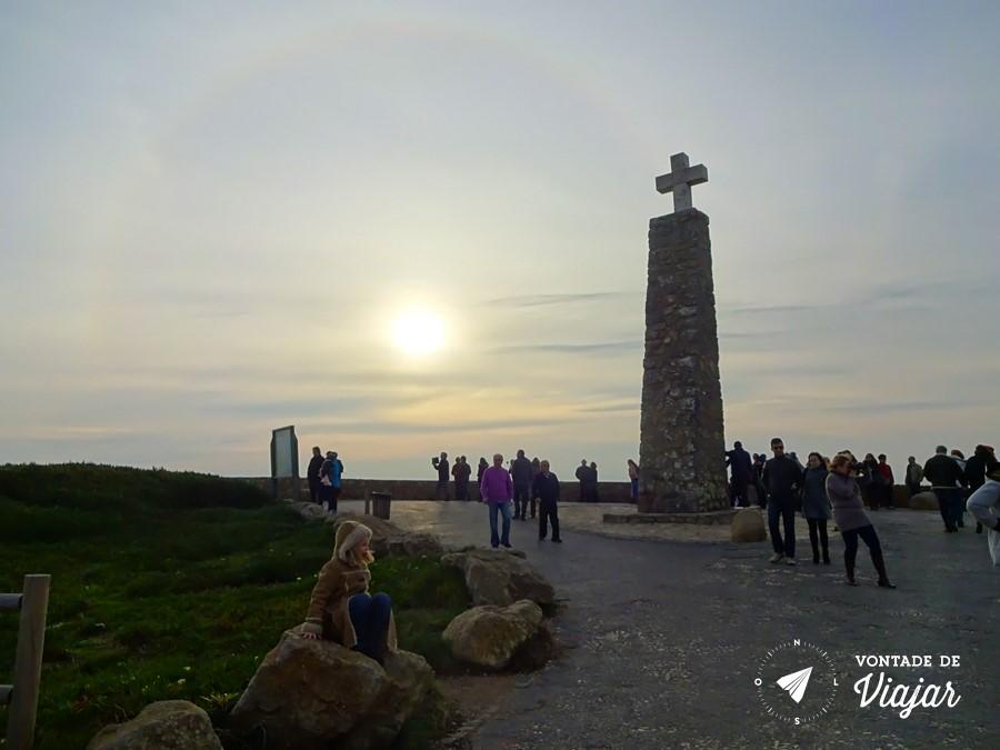 Portugal - Cabo da Roca - Por do sol