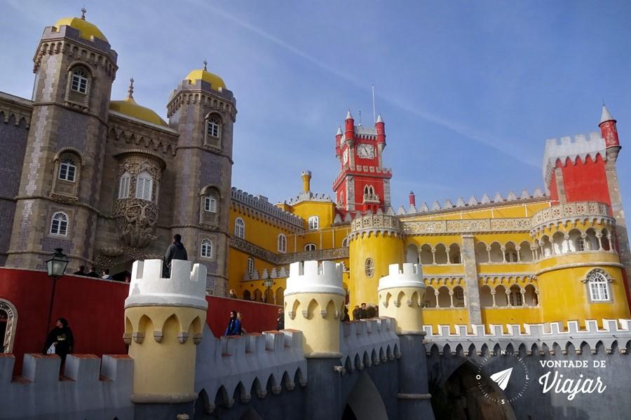 Sintra Eca de Queiroz - Palacio da Pena Portugal