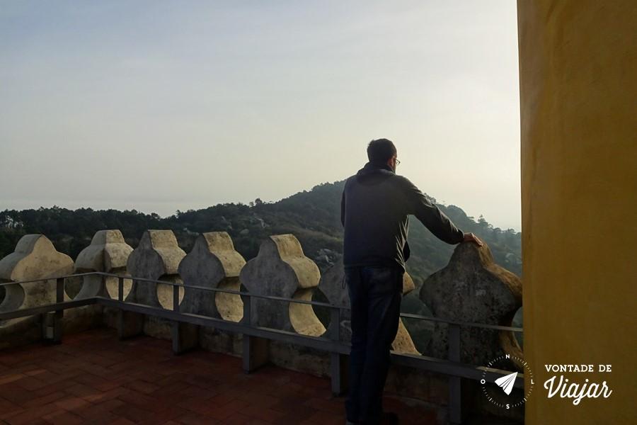 Sintra Eca de Queiroz - Palacio da Pena no alto da Serra