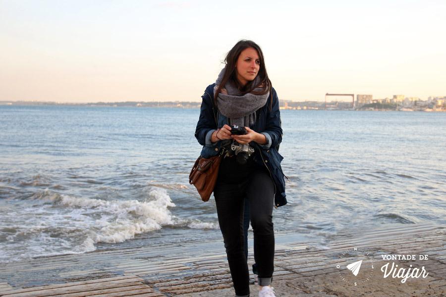 Slow travel - Beira do Rio Tejo em Lisboa