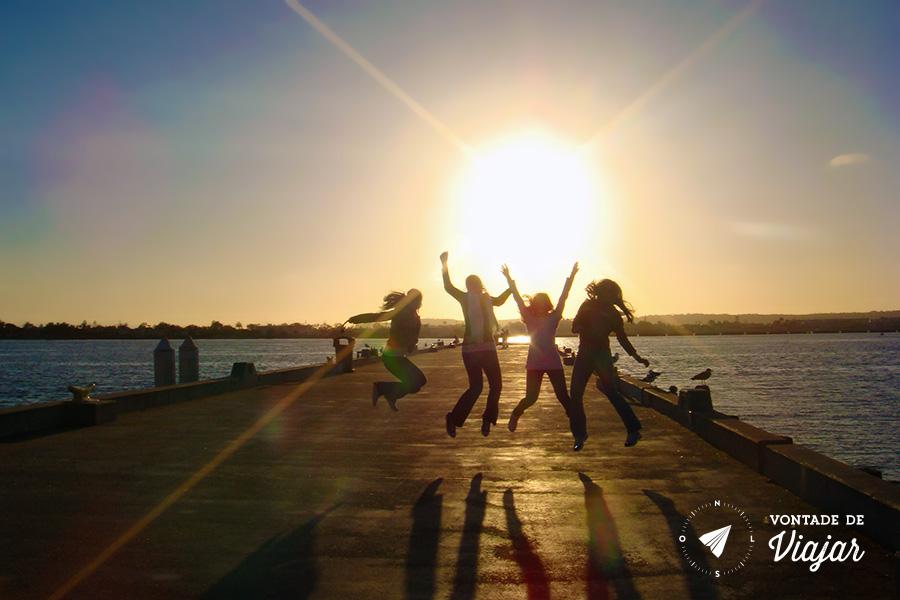 O que fazer em San Diego - Por do sol no Pacifico