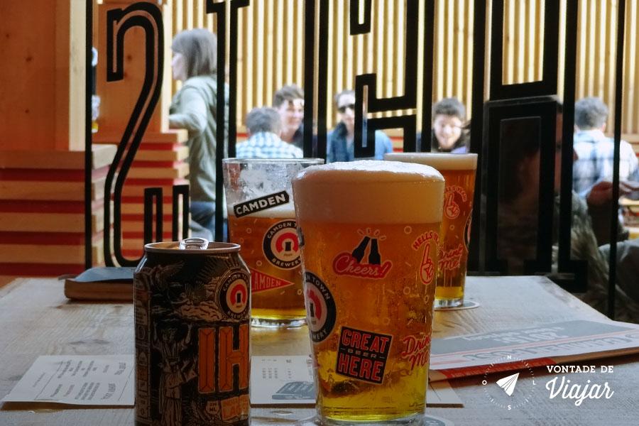 Camden Town Brewery - Estilo de cerveja IHL