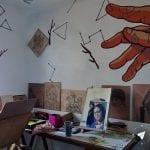 Street art em Montevidéu - Casa Wang atelie de artistas