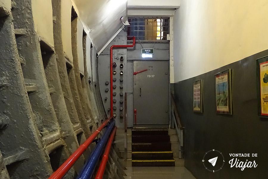 Bunker 42 Moscou - Abrigo nuclear da Guerra Fria