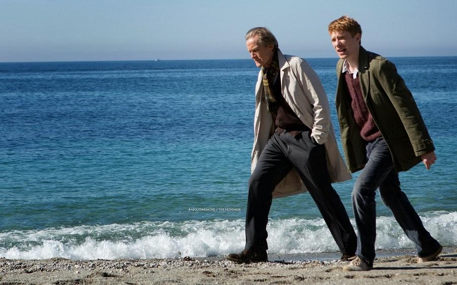 Filmes no Reino Unido - Questao de Tempo - Praia em Cornwall