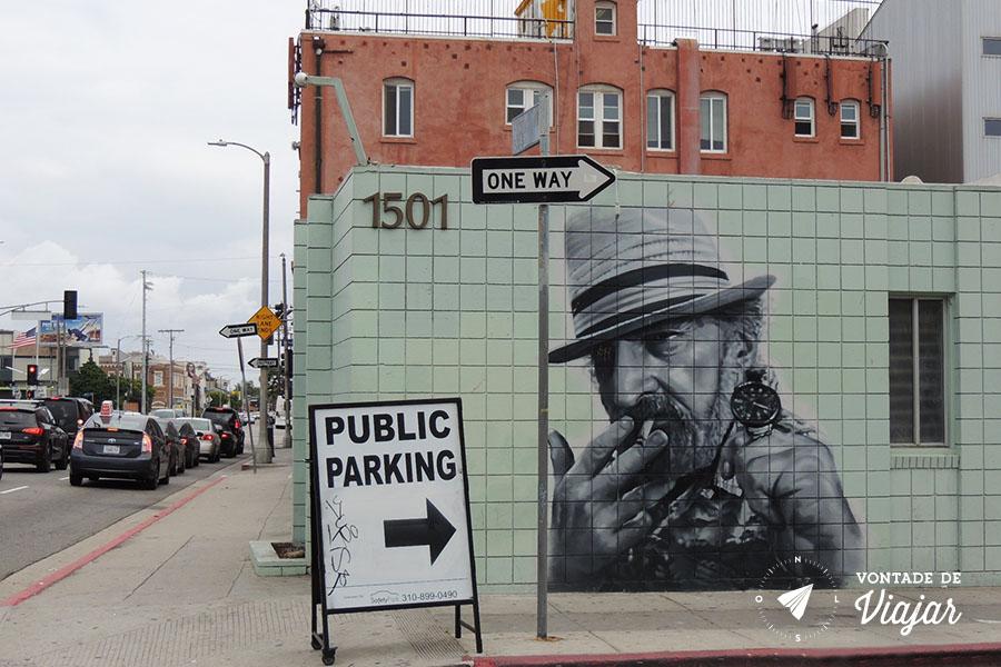Los Angeles - Arte urbana em Venice Beach