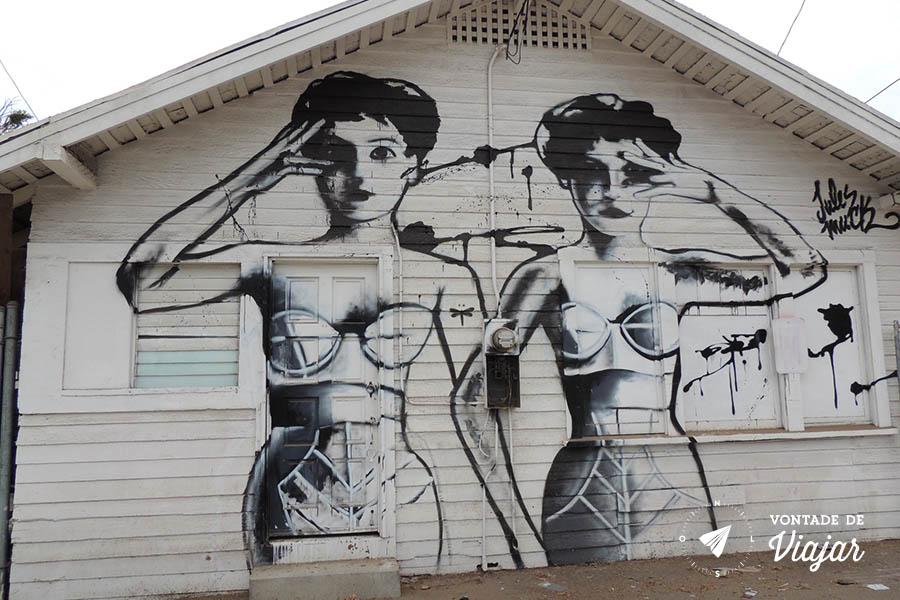 Los Angeles - Graffiti em Venice Beach