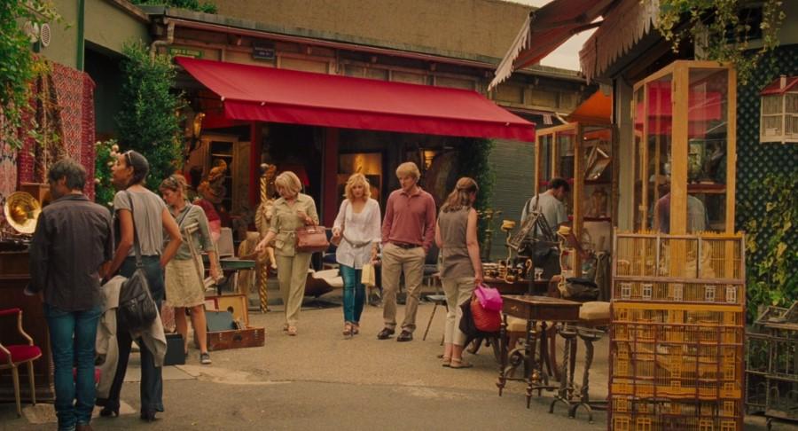 Meia noite em Paris - Mercado de antiguidades Saint-Ouen