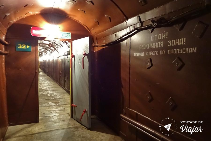 Moscou - Abrigo antiaereo da Guerra Fria Bunker 42