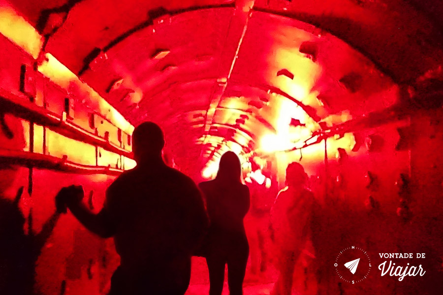 Moscou - Simulacao de emergencia Bunker 42