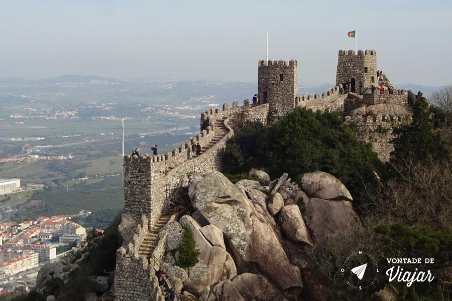 Portugal - Castelo dos Mouros Sintra
