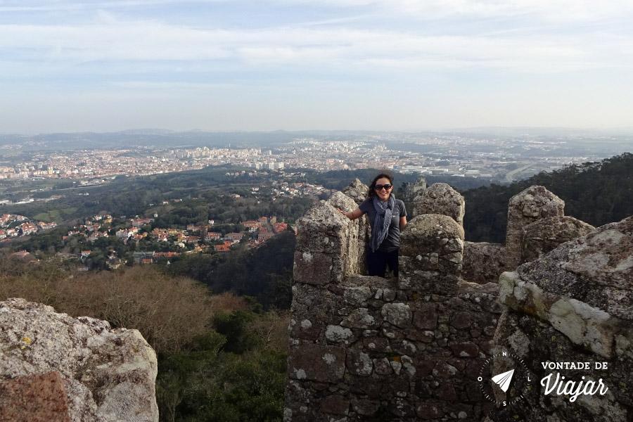 Portugal - Muralha do Castelo dos Mouros em Sintra