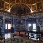 Portugal - Palacio Nacional de Sintra - Sala dos Brasoes