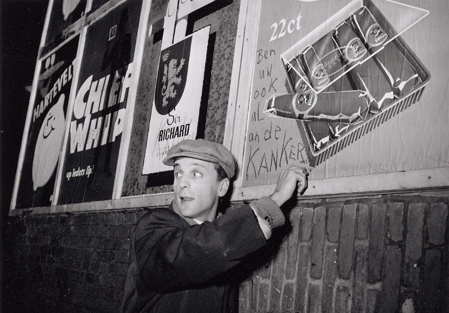 Provos Amsterdam - Robert Jasper Grootveld - Protesto antitabagista 1961