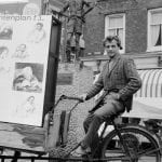 Provos Amsterdam - Robert Jasper Grootveld em Spui 1964