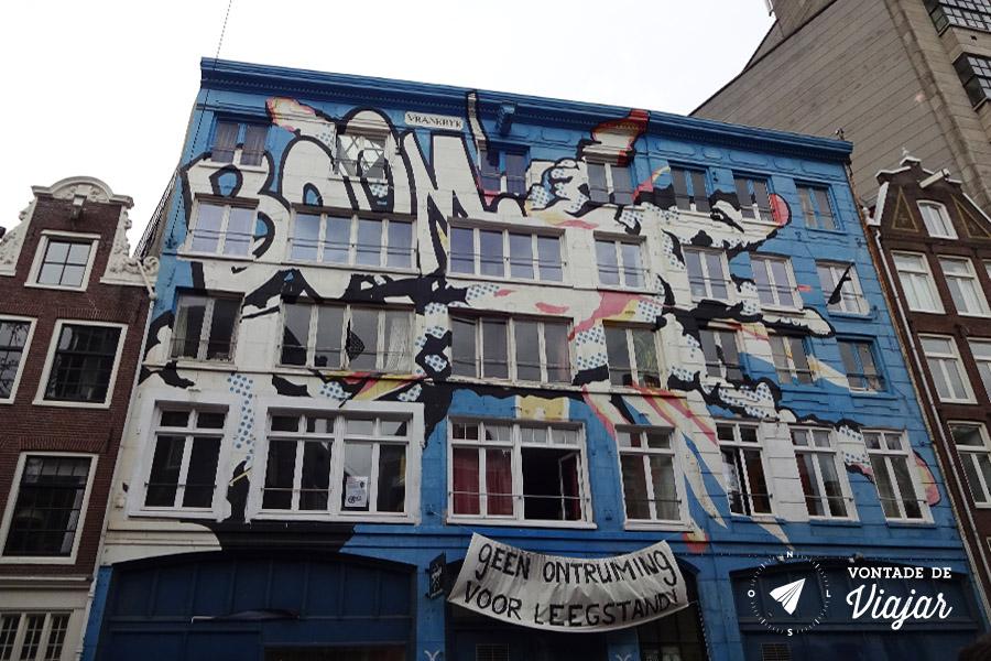 Provos Amsterdam - Squatting predio ocupado em 2015
