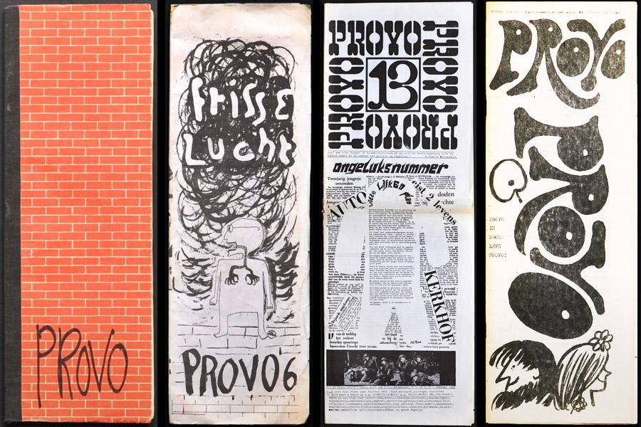 Provos Amsterdam - Zines da Contracultura anos 60 - blog Vontade de Viajar