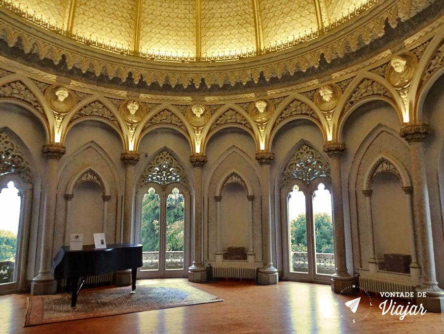 Sintra - Palacio de Monserrate Sala de Musica