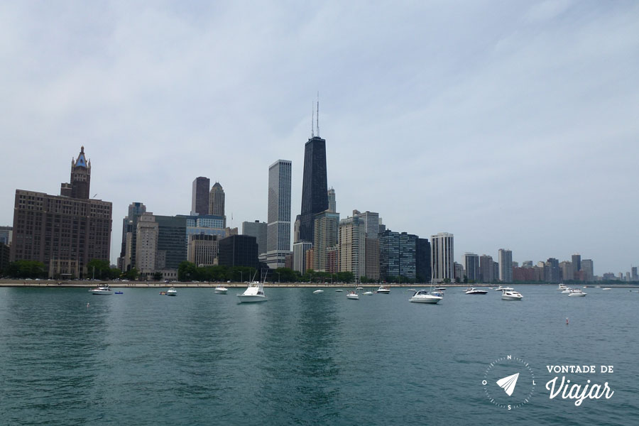 Chicago - Vista do Lago Michigan