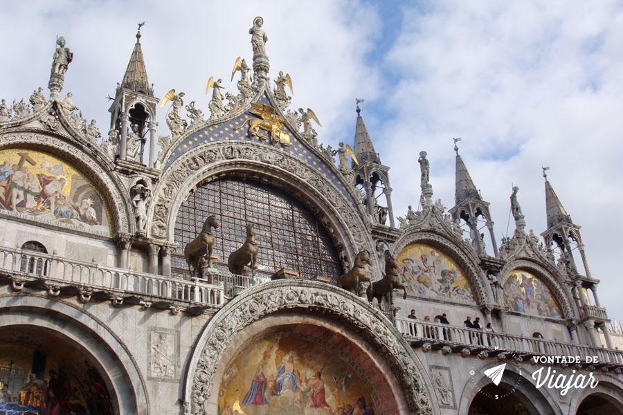 Italia - Basilica de San Marco em Veneza