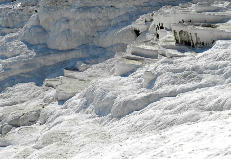Pamukkale - Parece neve mas e calcario