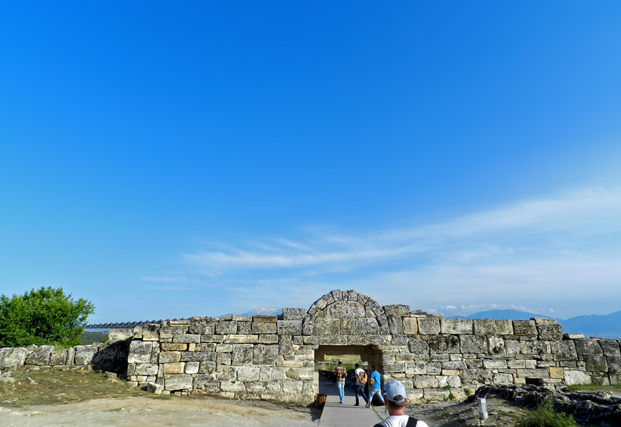 Pamukkale - Ruinas em Hierapolis Turquia