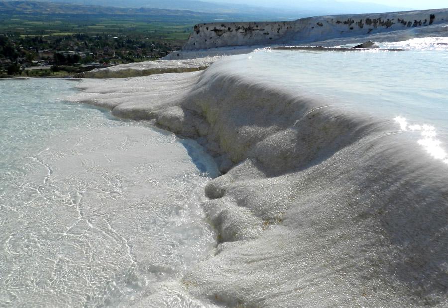 Pamukkale - Terraco de agua na Turquia