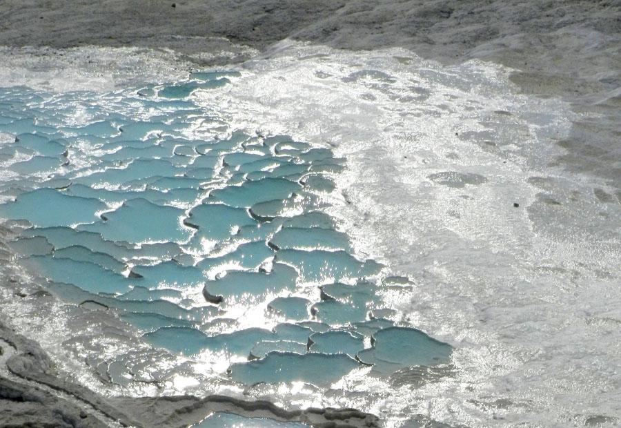 Pamukkale - Trecho fechado ao publico