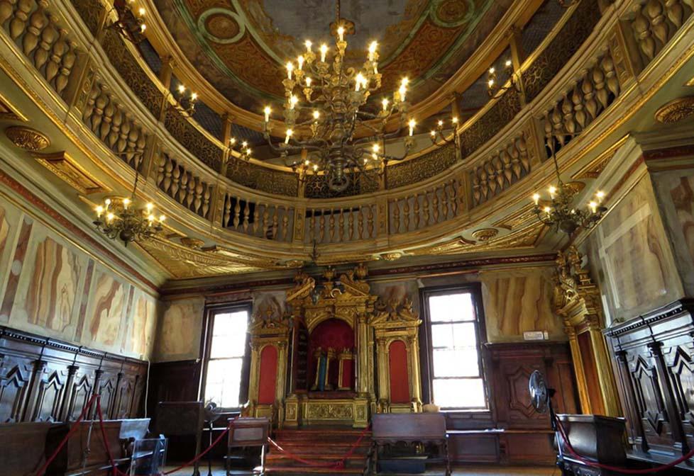 Bairro judaico de Veneza - Sinagoga Alema Schola Tedesca - Foto World Monuments Fund
