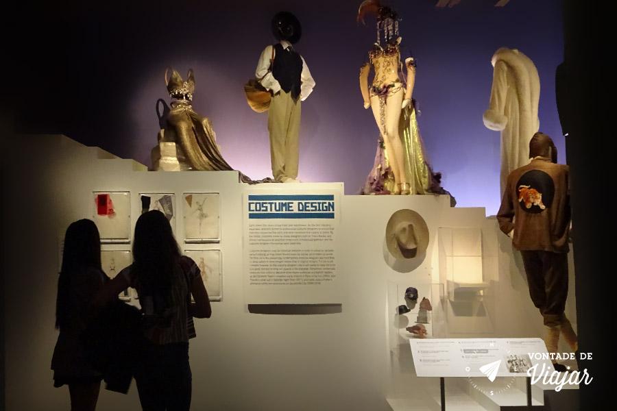 Nova York - Museu do Cinema no Queens - Figurinos do cinema