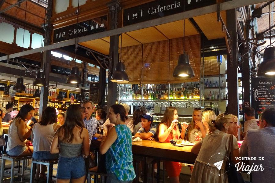 Onde comer em Madri - Bar no Mercado San Miguel