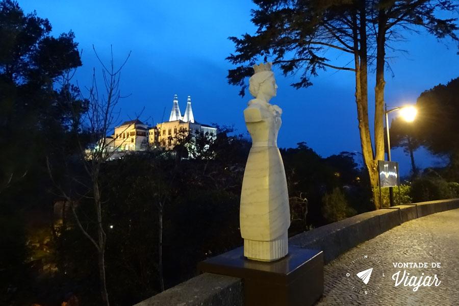 O que fazer em Sintra - Estatuas na Volta do Duche