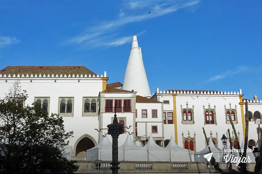 O que fazer em Sintra - Palacio Nacional