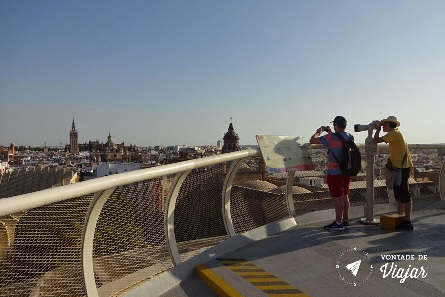 Las Setas de Sevilha - Mirante Metropol Parasol