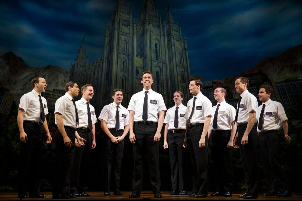 NY Broadway - Book of Mormon - Foto Joan Marcus