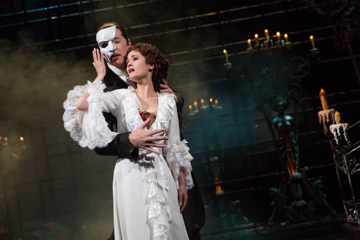 NY Broadway - Fantasma da Opera - Foto Matthew Murphy