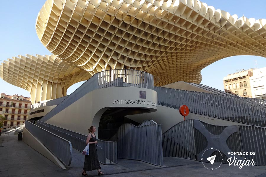 Setas de Sevilha - Metropol Parasol Antiquarium de Sevilha