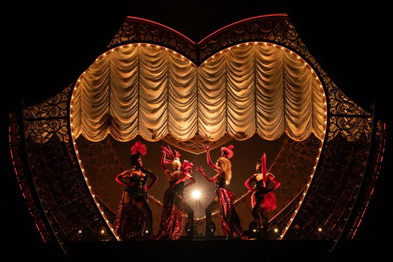 Moulin Rouge Musical na Broadway - Foto Matthew Murphy